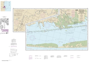 Picture of 11303 - Intracoastal Waterway - Laguna Madre - Chubby Island To Stover Point Including The Arroyo Colorado Nautical Chart