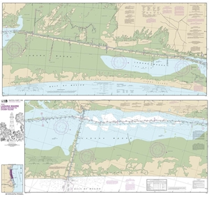 Picture of 11306 - Intracoastal Waterway - Laguna Madre Middle Ground To Chubby Island Nautical Chart