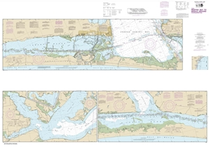 Picture of 11308 - Intracoastal Waterway - Redfish Bay To Middle Ground Nautical Chart