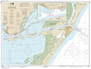 Picture of 11312 - Corpus Christi Bay - Port Aransas To Port Ingleside Nautical Chart