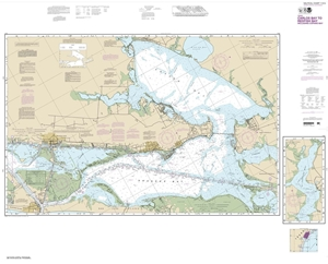 Picture of 11314 - Intracoastal Waterway - Carlos Bay To Redfish Bay Including Copano Bay Nautical Chart