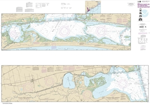 Picture of 11315 - Intracoastal Waterway - Espiritu Santo Bay To Carlos Bay Including San Antonio Bay And Victoria Barge Canal Nautical Chart