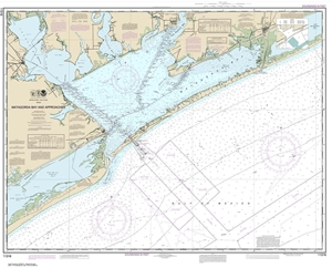 Picture of 11316 - Matagorda Bay And Approaches Nautical Chart