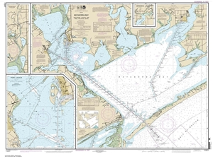 Picture of 11317 - Matagorda Bay Including Lavaca And Tres Palacios Bays Nautical Chart
