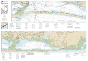 Picture of 11319 - Intracoastal Waterway - Cedar Lakes To Espiritu Santo Bay Nautical Chart