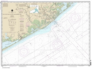 Picture of 11321 - San Luis Pass To East Matagorda Bay Nautical Chart