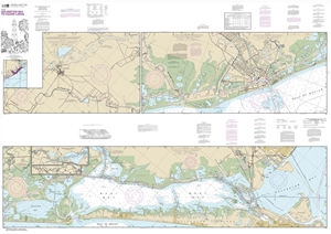 Picture of 11322 - Intracoastal Waterway - Galveston Bay To Cedar Lakes Nautical Chart