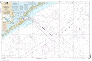 Picture of 11323 - Approaches To Galveston Bay Nautical Chart