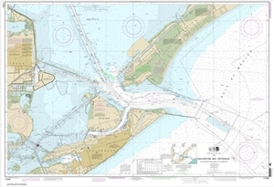 Picture of 11324 - Galveston Bay Entrance - Galveston And Texas City Harbors Nautical Chart