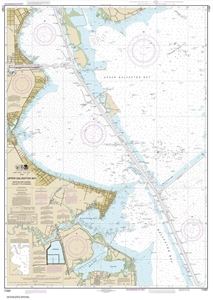 Picture of 11327 - Upper Galveston Bay - Houston Ship Channel - Dollar Point To Atkinson Island Nautical Chart