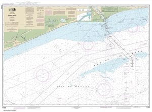 Picture of 11332 - Sabine Bank Nautical Chart
