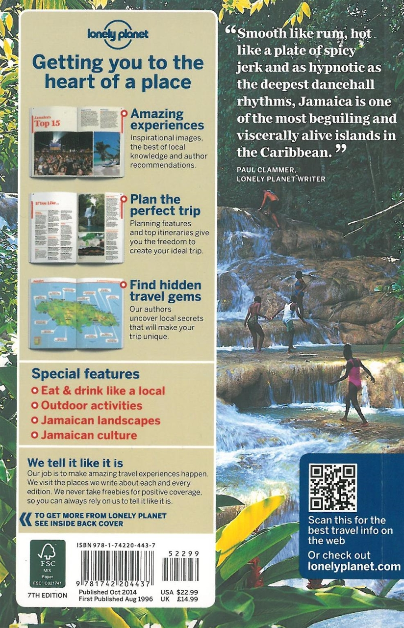 themapstore lonely planet jamaica caribbean travel guide
