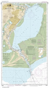 Picture of 11342 - Sabine Pass And Lake Nautical Chart