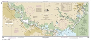 Picture of 11343 - Sabine And Neches Rivers Nautical Chart