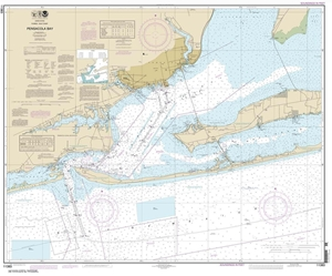 Picture of 11383 - Pensacola Bay Nautical Chart