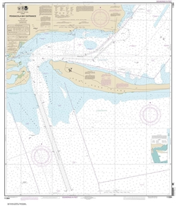 Picture of 11384 - Pensacola Bay Entrance Nautical Chart