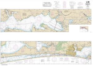 Picture of 11385 - Intracoastal Waterway - West Bay To Santa Rosa Sound Nautical Chart