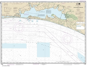 Picture of 11388 - Choctawhatchee Bay Nautical Chart