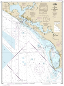 Picture of 11389 - St. Joseph Bay And St. Andrew Bay Nautical Chart