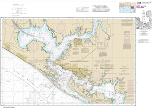 Picture of 11390 - Intracoastal Waterway - East Bay To West Bay Nautical Chart