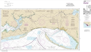 Picture of 11393 - Intracoastal Waterway - Lake Wimico To East Bay Nautical Chart