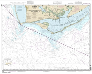 Picture of 11401 - Apalachicola Bay To Cape San Blas Nautical Chart
