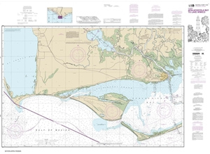 Picture of 11402 - Intracoastal Waterway - Apalachicola Bay To Lake Wimico Nautical Chart