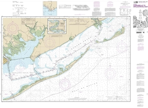 Picture of 11404 - Intracoastal Waterway - Carrabelle To Apalachicola Bay Nautical Chart