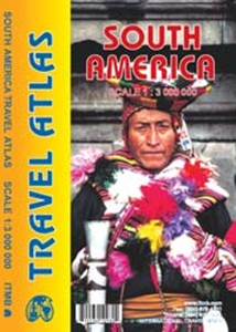 Picture of International Travel Maps - South America Travel Atlas