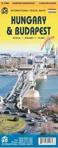 Picture of International Travel Maps - Hungary & Budapest