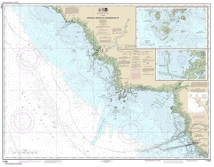 Picture of 11408 - Crystal River To Horseshoe Point Nautical Chart