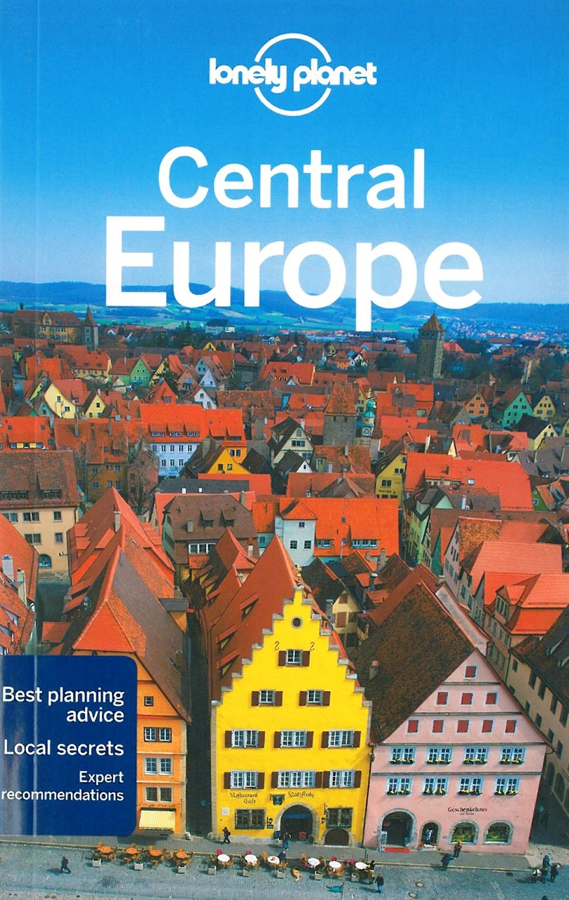 Themapstore Lonely Planet Central Europe Europe Travel Guide