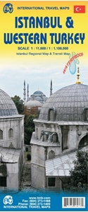 Picture of International Travel Maps - Istanbul & Western Turkey
