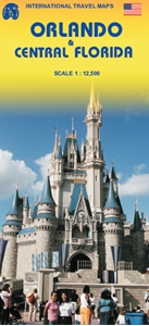 Picture of International Travel Maps - Orlando & Central Florida