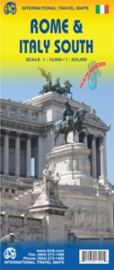 Picture of International Travel Maps - Rome & Italy South