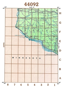 Picture of 44092 - Wisconsin Topographic Maps