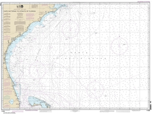 Picture of 11009 - Cape Hatteras To Straits of Florida Nautical Chart