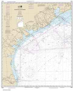 Picture of 11300 - Galveston To Rio Grande Nautical Chart