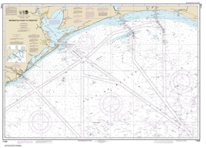 Picture of 11330 - Mermentau River To Freeport Nautical Chart