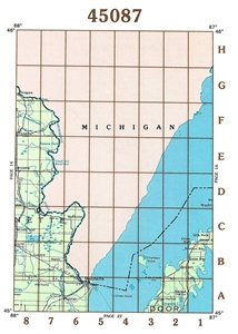 Picture of 45087 - Wisconsin Topographic Maps
