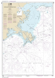 Picture of 11366 - Approaches To Mississippi River Nautical Chart