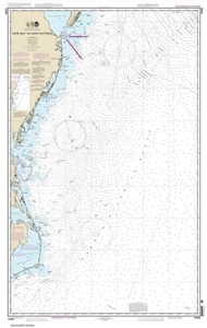 Picture of 12200 - Cape May To Cape Hatteras Nautical Chart