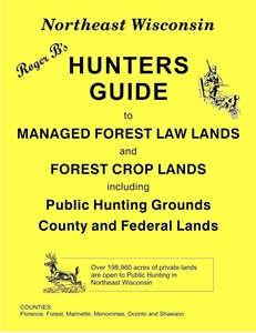 Picture of Roger B's Northeast Wisconsin Hunters Guide 2015 Edition