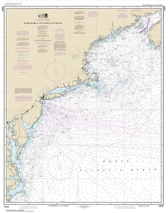 Picture of 13003 - Cape Sable To Cape Hatteras Nautical Chart