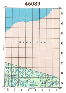 Picture of 46089 - Wisconsin Topographic Maps