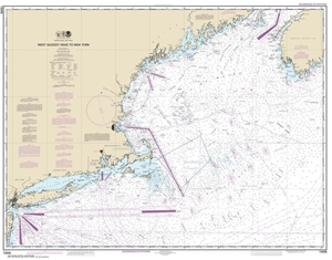 Picture of 13006 - West Quoddy Head To New York Nautical Chart