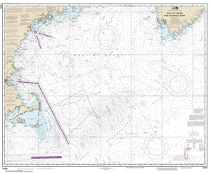 Picture of 13009 - Gulf of Maine And Georges Bank Nautical Chart