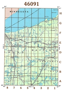 Picture of 46091 - Wisconsin Topographic Maps