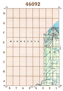 Picture of 46092 - Wisconsin Topographic Maps
