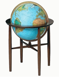 "Picture of Austin 16"" Blue Ocean Illuminated World Globe"
